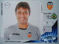 Panini 391 Diego Alves Valencia CF UEFA CL 2012/13