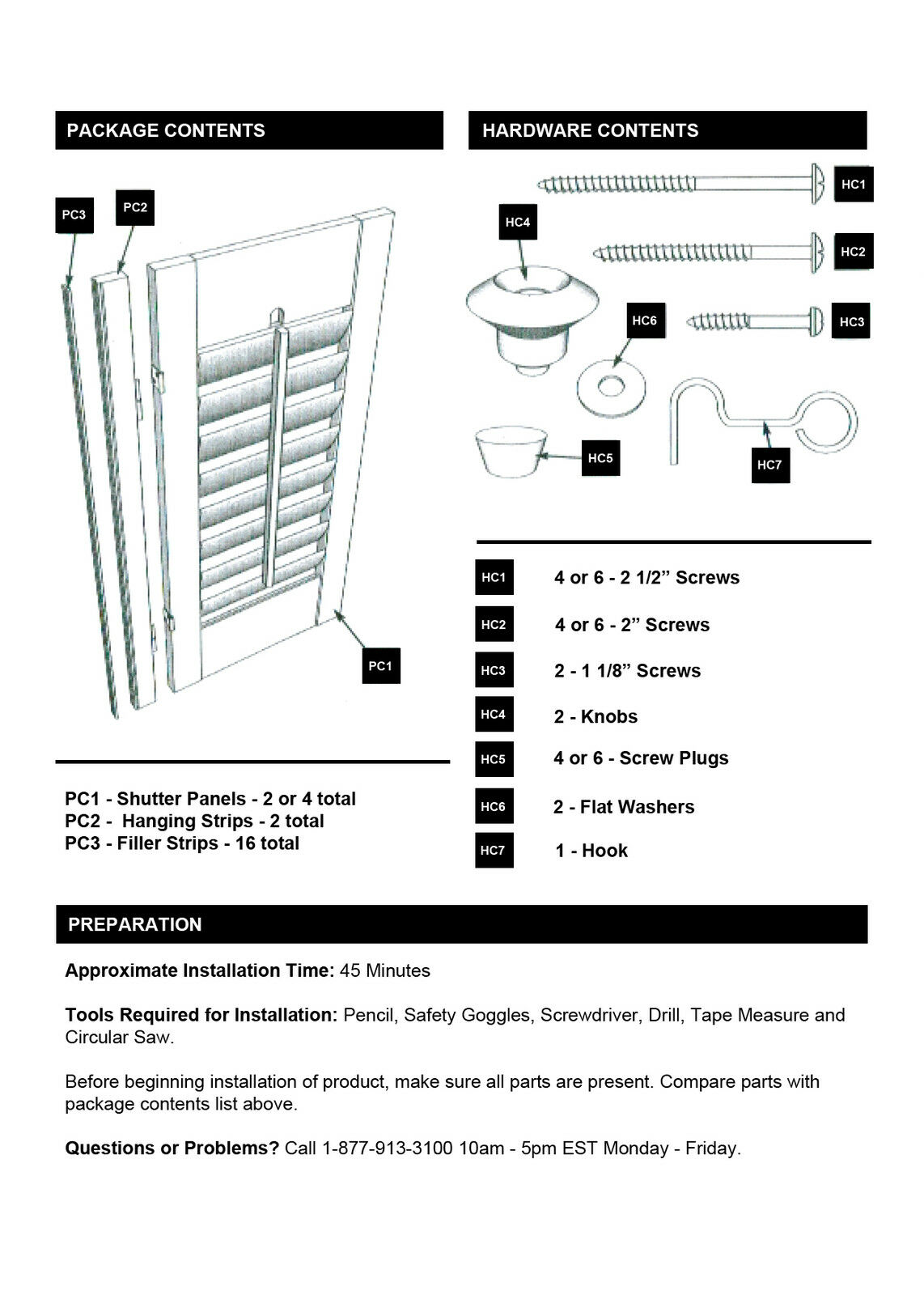 Faux wood diy plantation 2 1 4 interior shutter kits 35 w 190856053385 - Plantation shutters kits ...