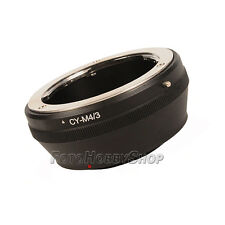 compatible Contax/Yashica C/Y Lens to M 4/3 MFT System Mount Camera Adapter