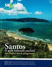 Chile Sky Airline Inflight Magazine 05 2014 Balneario Santos de Brazil