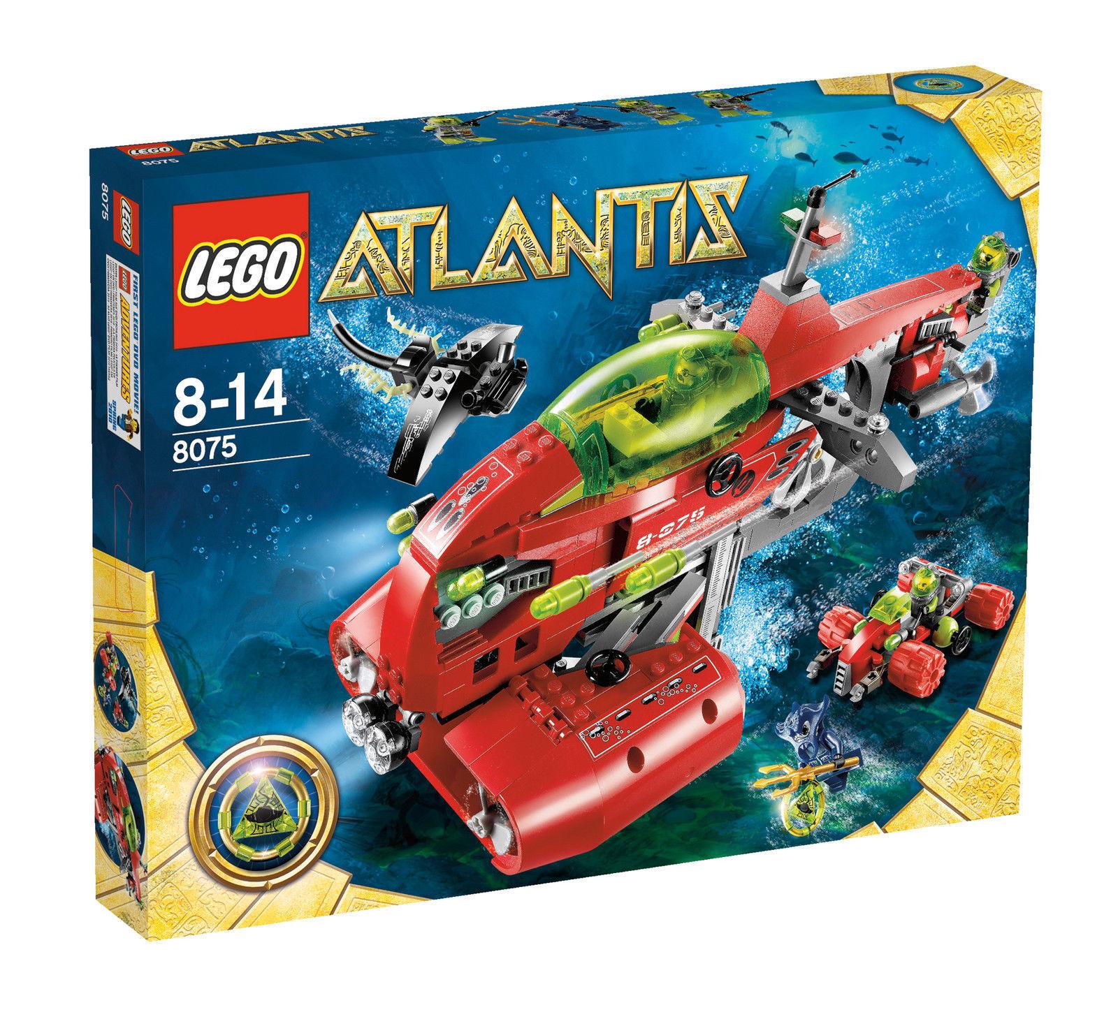 LEGO® Atlantis 8075 Neptuns U-Stiefel NEU OVP_ Neptune Carrier NEW MISB NRFB