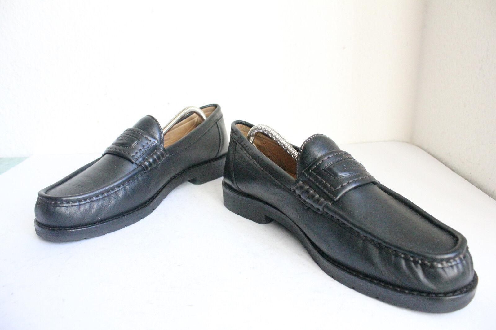 CAMEL Boots pelle Elegante Slipper Scarpe da uomo in vera pelle Boots nero eu:45, 5-uk:11 0ad831