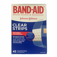 Band-aid Comfort-flex Adhesive Bandages Assorted 45 Each (pack Of 4) on sale