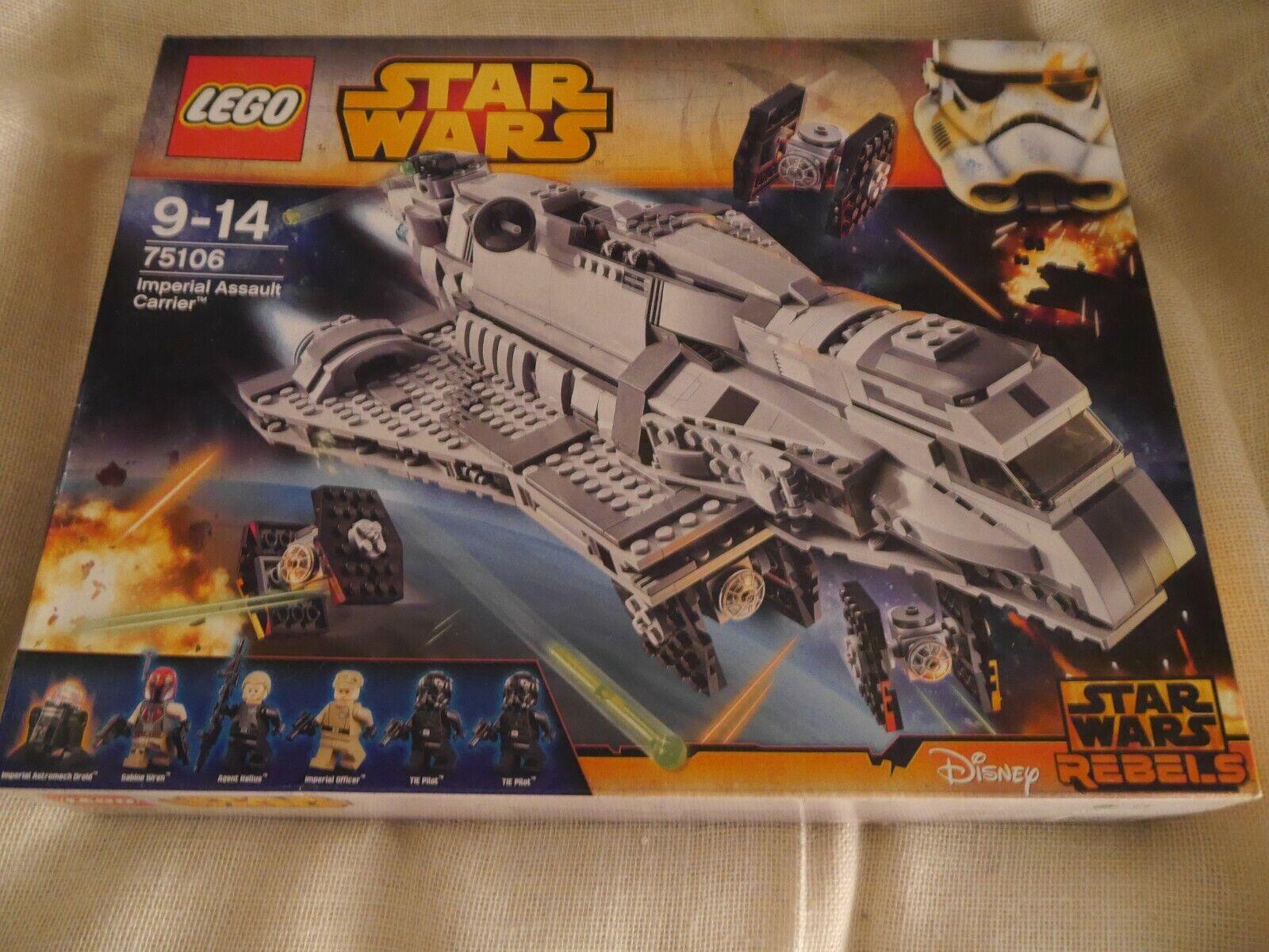 LEGO - Stern WARS - 75106 - Imperial Assault voiturerier - Neuf - Boîte scellée
