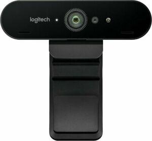 Logitech BRIO 4K ULTRA HD PRO WEBCAM With HDR and Windows Hello Support, 5X zoom
