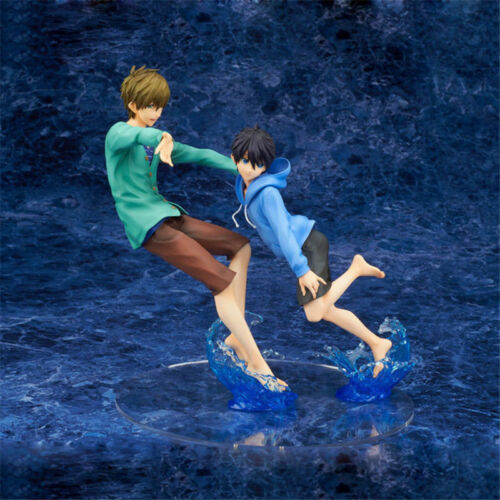 Free Starting Days Haruka Nanase /& Makoto Tachibana 1//7 Figure New High-speed