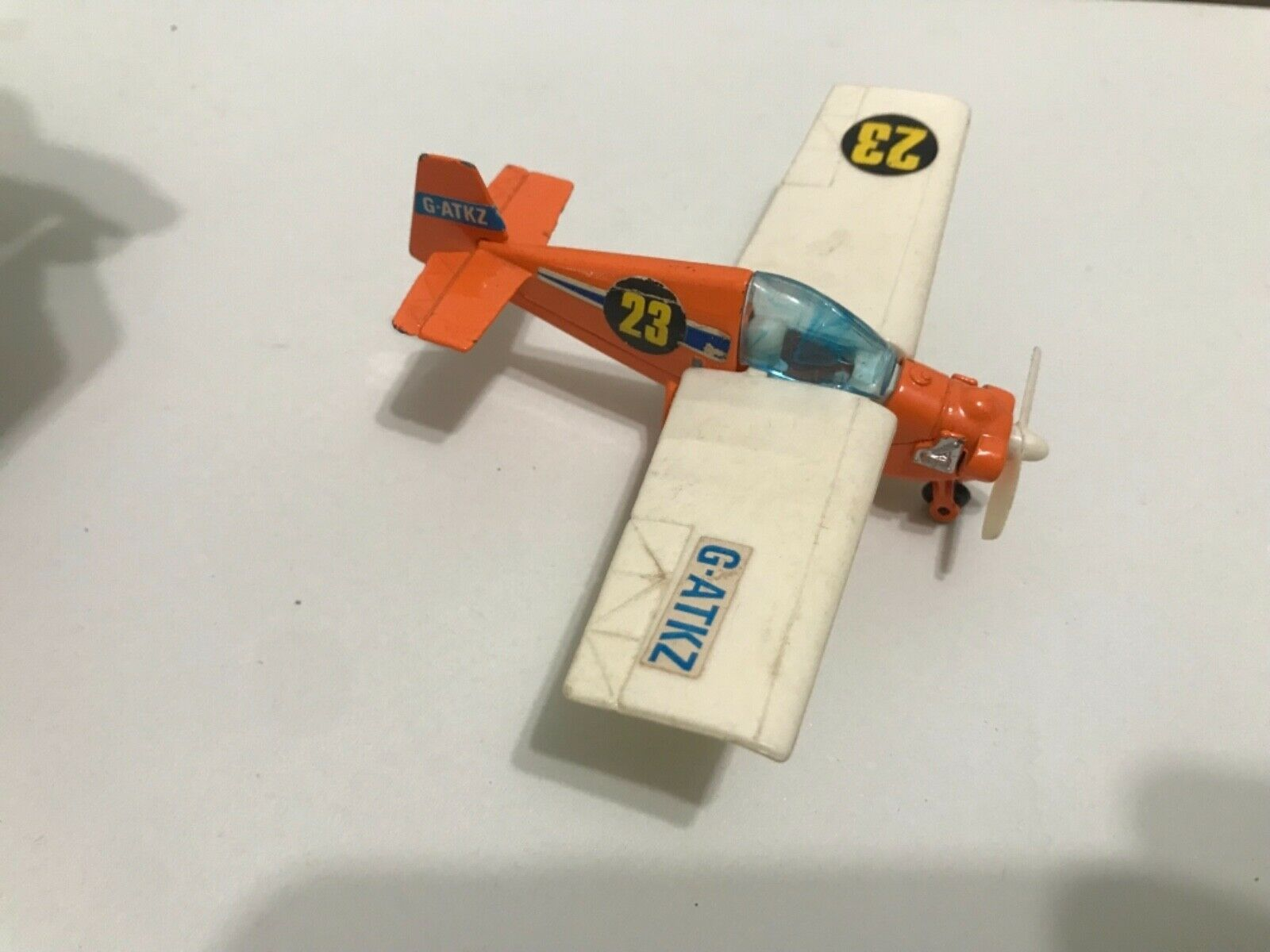 Vintage 1969 Corgi airplane nipper mark