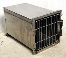 "Shor-Line Stainless Steel Modular Animal Cage 18"" x 18"" x 28"" Single Door"