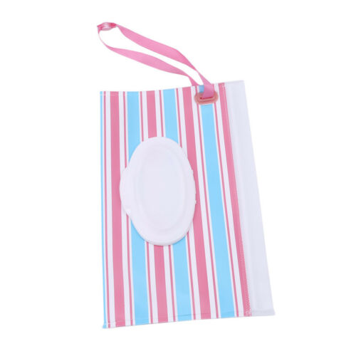 Infant Wipes Case Reusable Wet Wipe Pouch Baby Wipes Dispenser Baby Supplies 6A