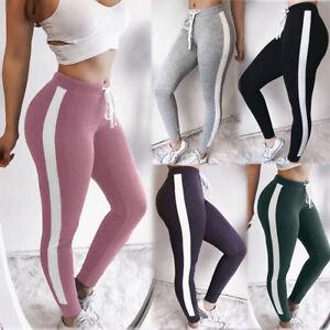 Women-High-Waist-Yoga-Sport-Leggings-Running-Gym-Stretch-Sports-Long-Pants-New