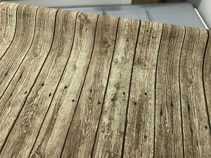Holzbretter Canvas Dekostoff Holzoptik