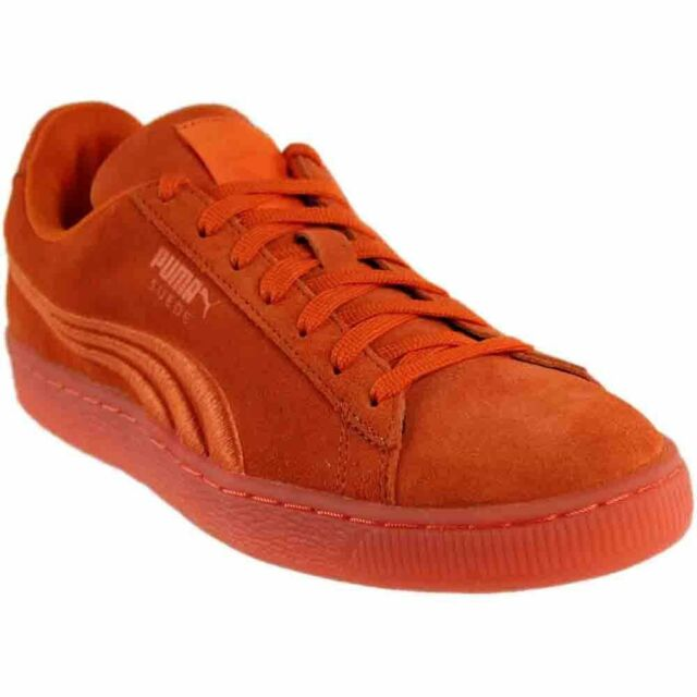 ed31290e8507 PUMA Suede Classic Badge Iced Men S SNEAKERS 10.5 Golden Poppy for ...