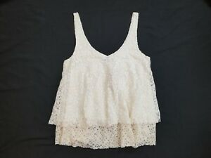 fca39716e6880 NWT American Eagle Outfitters AEO Women s Lace Tank Top Size XS ...