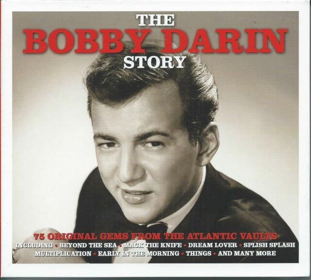 Bobby Darin - The Story - The Best Of / Greatest Hits 3CD NEW/SEALED