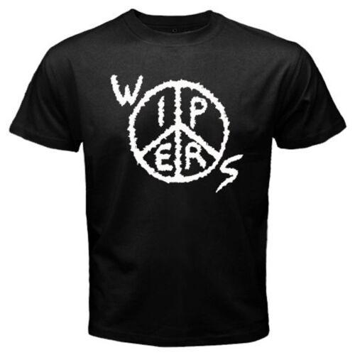 New Wipers Peace Logo Punk Rock Band Men/'s Black T-Shirt S M L XL 2XL 3XL