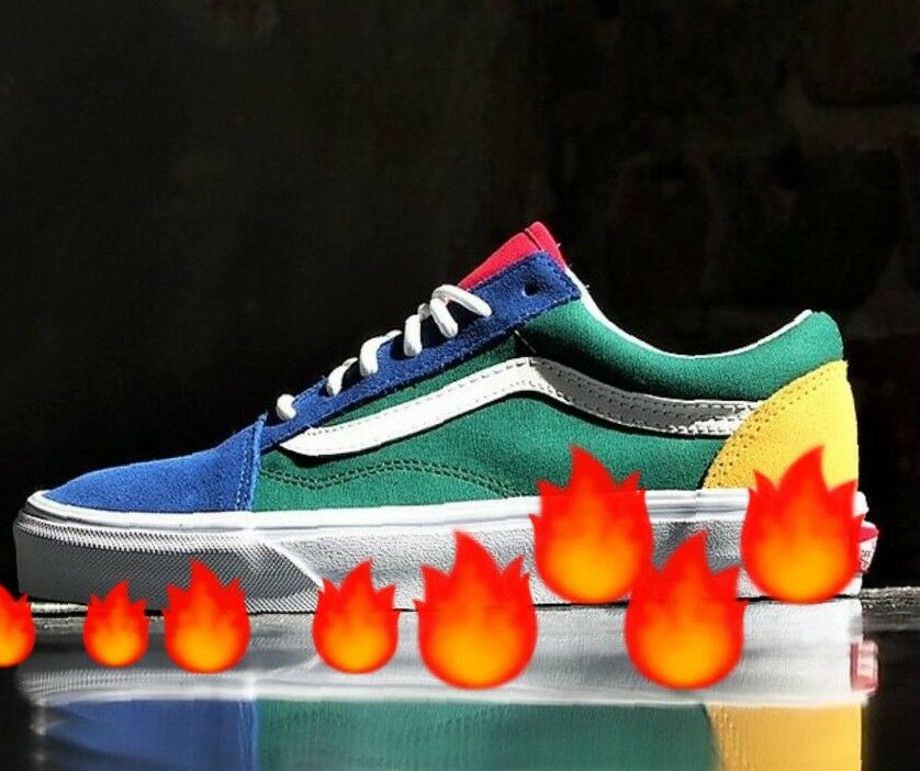 Vans yacht club old skool size 7