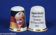 Angela Merkel Chancellor of Germany China Thimble B/125