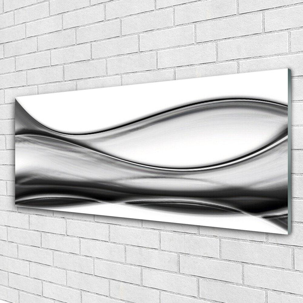 Wand Kunst Drucken on Plexiglas® Acrylic 125x50 Abstraction Kunst