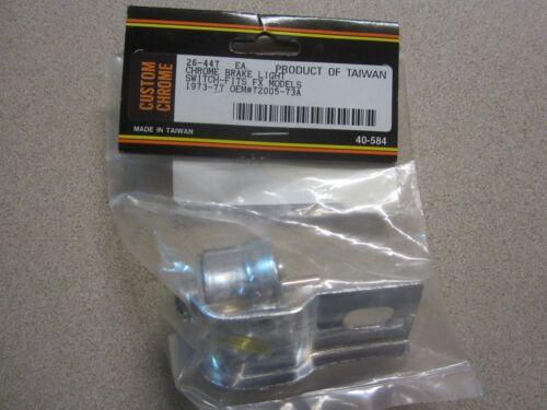 Custom Chromes 26-447 Chrome Brake Light Switch 72005-73A