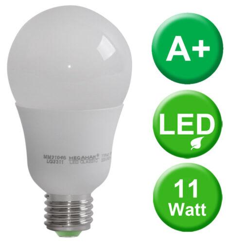 11 W ampoules DEL e27 lampe 1055 Lm éclairage blanc chaud lampe EEK Bon état