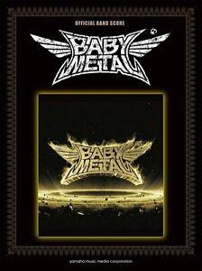 Babymetal-Band-Score-Metall-Widerstand-Notenblatt-Buch-Japan-mit-Abtastung-Neu