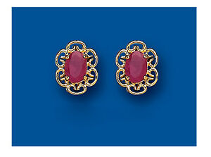 item size women ruby white jewelry gemstone natural cost earrings effective gold red solid in or from