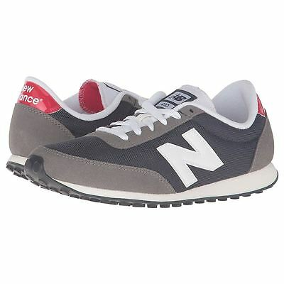 sneakercrew. New Balance 410 70s Running Grey Navy Mens Trainers