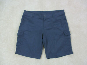 Columbia-Shorts-Womens-12-Gray-Fishing-Hiker-Hiking-Outdoors-Casual-Ladies