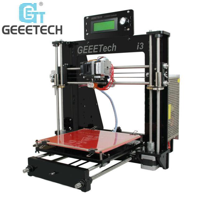 Geeetech Acryl Prusa I3 Pro B LCD MK8 3D Drucker Versand aus Deutschland