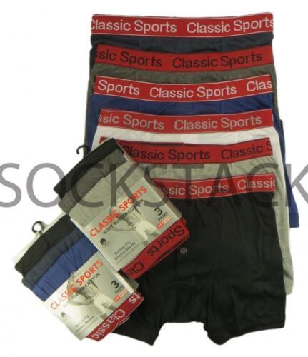 Designer Fashion Band  Boxers Underwear S M L XL 6 Pairs Men/'s Boxer Shorts