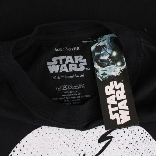 Star Wars Official Candid Kids T-Shirt Age 7-12