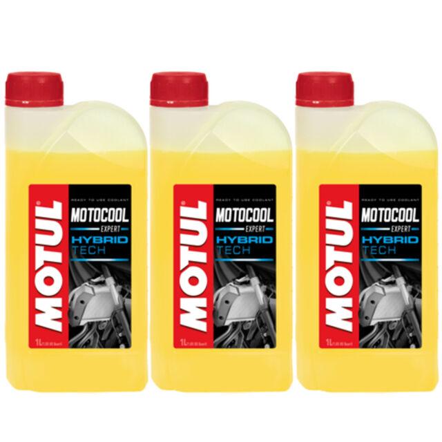 Motul Motocool Expert Hybrid Tech Liquido Refrigerante Moto - 3 Litri