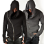 Men-039-s-Long-Sleeve-Hooded-Casual-Jacket-Zipper-Hoodie-Coat-Sweatshirt-Slim-Tops thumbnail 1