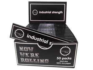 Dreadfully Kind x Industrial Strength King Size Rolling Papers (Box of 50 packs)