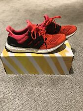 2129dc3fe adidas Ultra Boost Solar Red B34050 US Mens Sz9 Kanye for sale ...