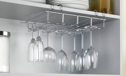 Sous de verres à pied verre à vin support stockage rack hanger en acier inoxydable