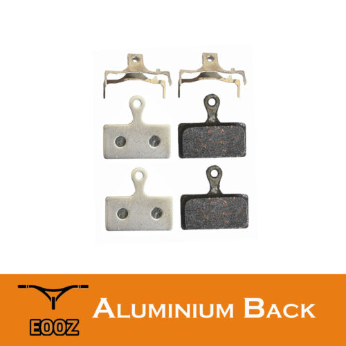 New 2 Pr Lightweight Bike Semimetallic Disc Brake Pads AL Back For SHIMANO M785