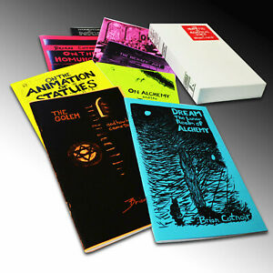 Hermetic-amp-Alchemical-Zines-of-Brian-Cotnoir-Boxed-Set-of-9-Zines-Alchemy