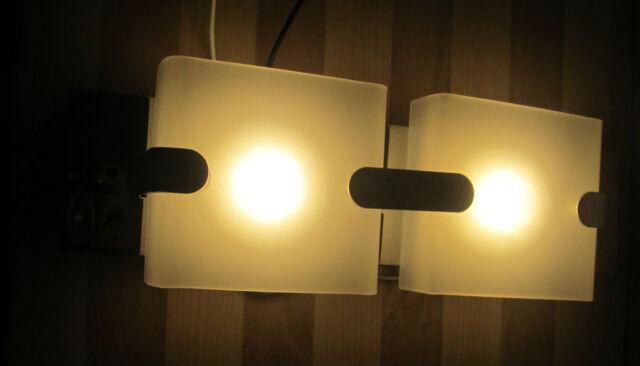 2 Pcs ITC LED Wall Mount Vanity Light Fixtures for Camper / RV 12 Volt