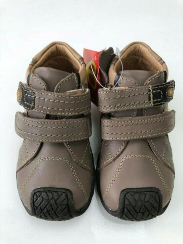 Billowy Bill 3210C03 Boys Light Brown Leather Ankle Boot