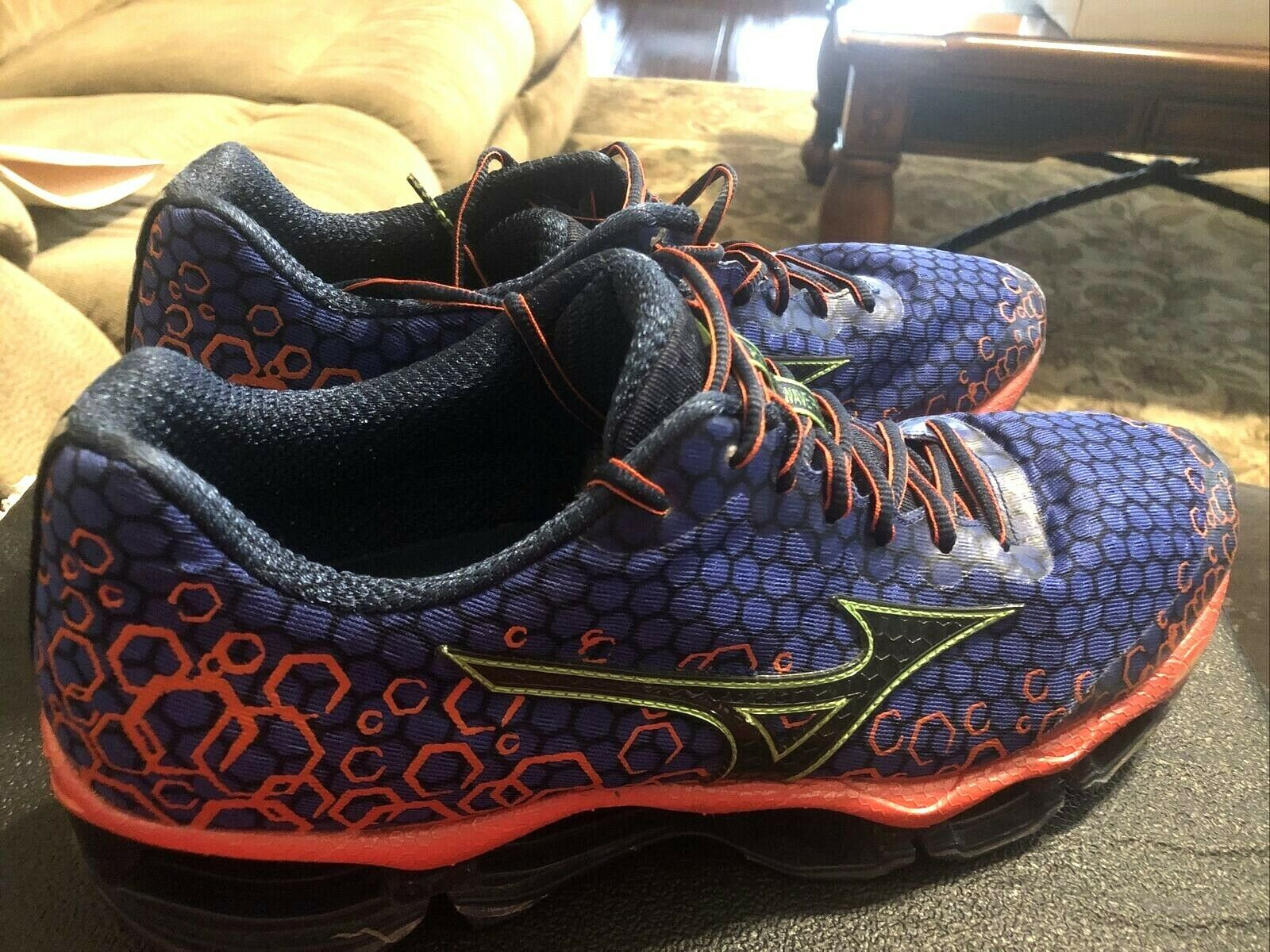 Mizuno Wave Prophecy 3 Men's Running Shoes Size 12.5 Very Good Condition