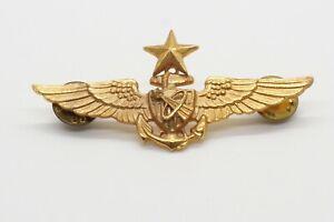 Vietnam War Navy Senior Astronaut 2 3/4 Inch Wings Badge