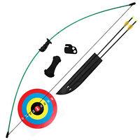 New Fred Bear CRUSADER Youth Bow Archery Set RH or LH Model# AYS6400