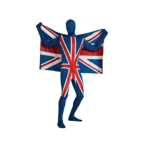 "Union Jack seconda pelle /""Tango Man /'Tuta Morph"