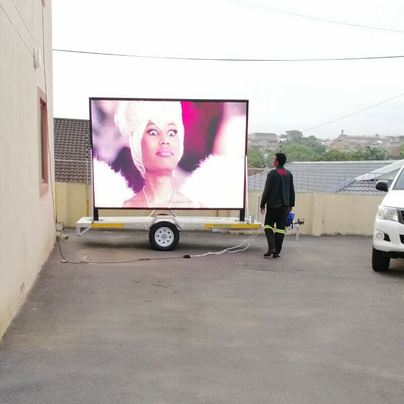 DIGITAL BILLBOARD ON WHEELS-HOT BUSINESS