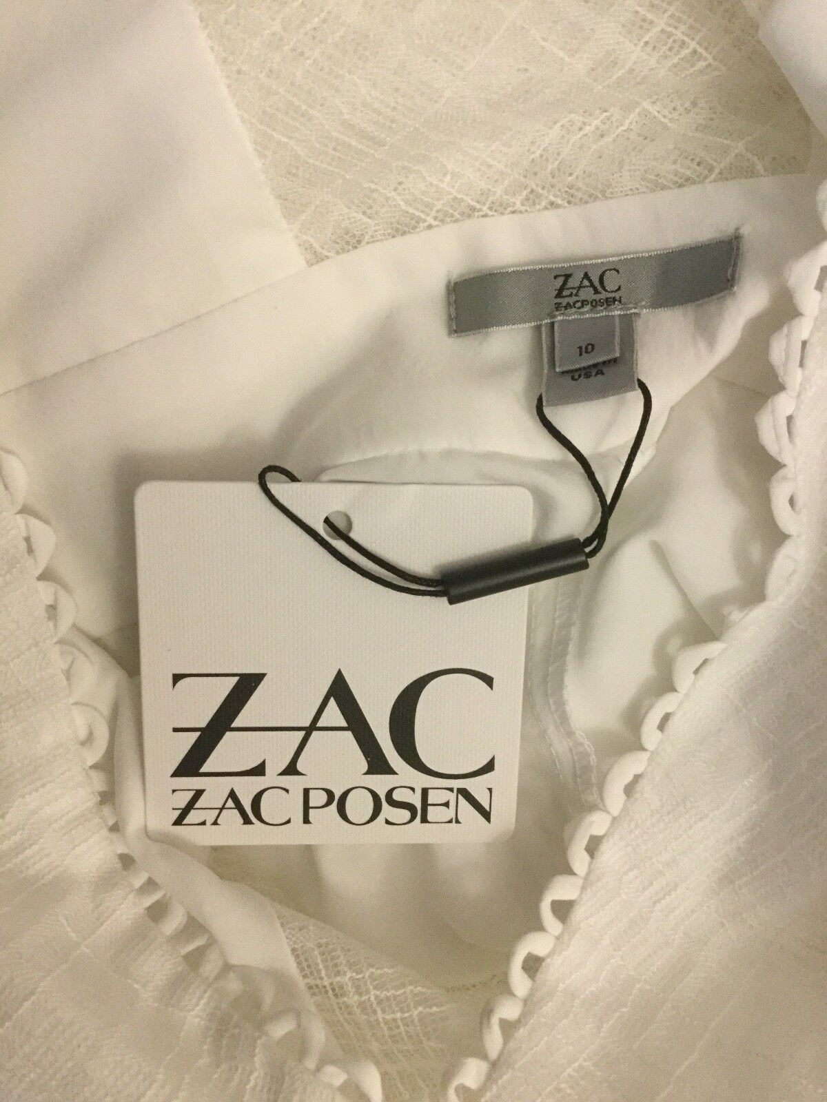 NWT NWT NWT  ZAC Zac Posen Annabelle Dress  525 size 10 Made in US f77e0b