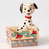 Jim Shore Disney Traditions 101 Dalmatians Mini Lucky In Box Figurine 4054287