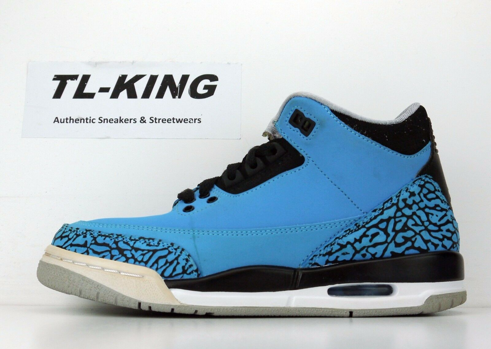 Nike Air Jordan 3 Retro BG GS Youth Powder Blue 398614 406 Msrp Price reduction Cheap and beautiful fashion