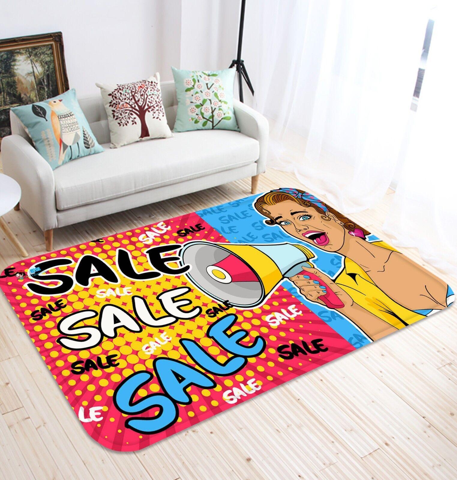 3D Painted Woman 688 Non Slip Rug Mat Room Mat Quality Elegant Photo Carpet AU