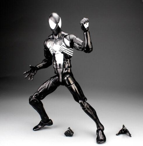 "Marvel Legends Infinite Series Symbiote Black Spiderman 6/"" Loose Action Figure"